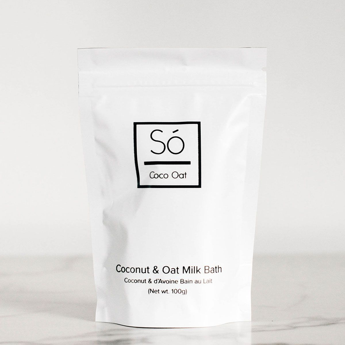 Coconut & Oat Milk Bath (100g) #milkbath