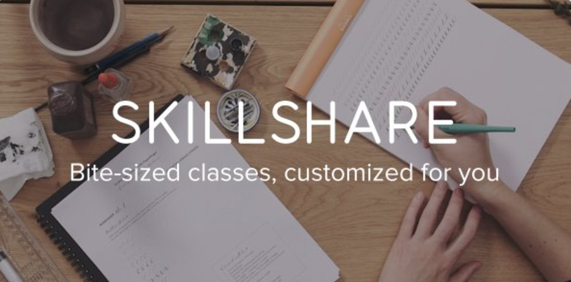 free month of Premium class. Skillshare is an online
