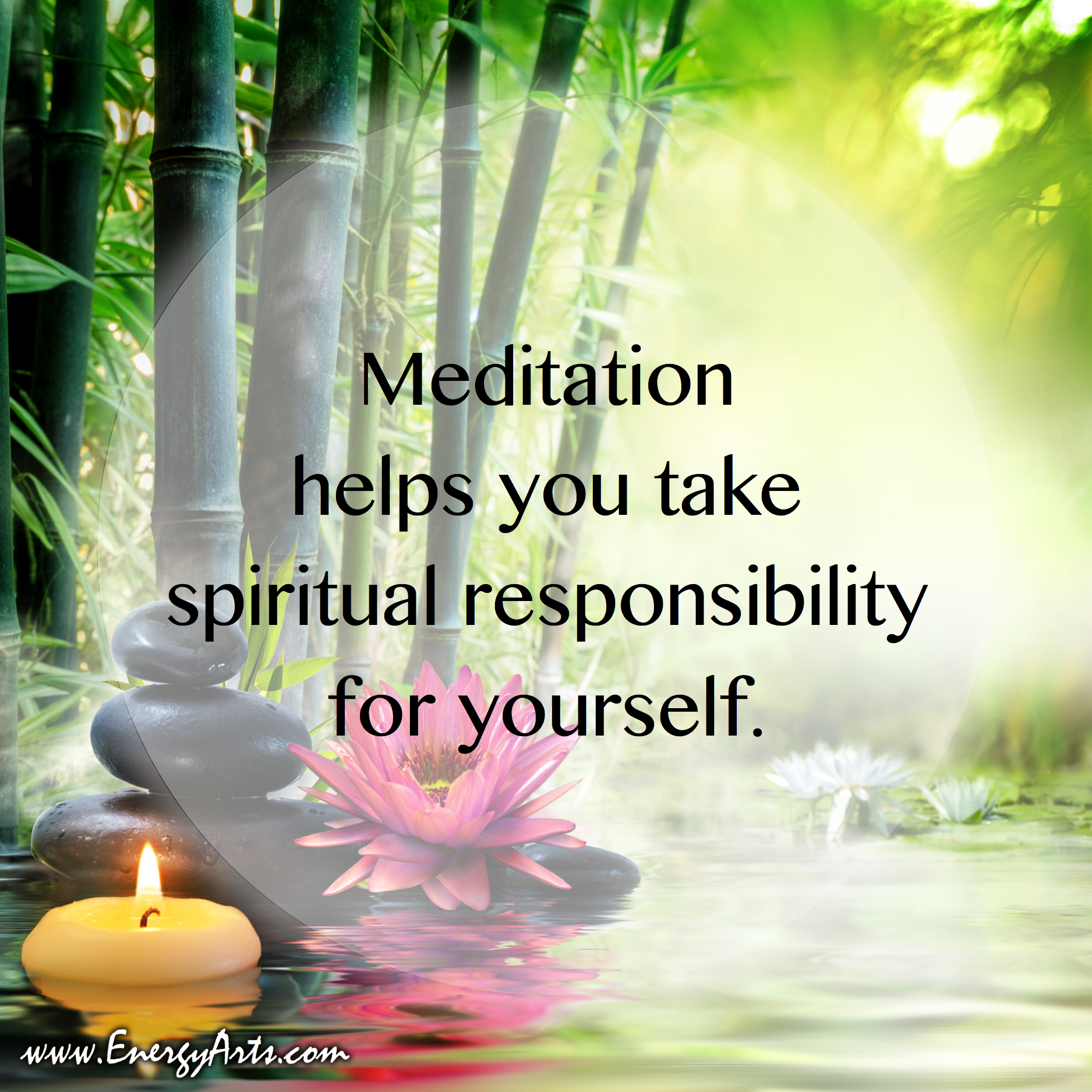 In the Taoist meditation tradition, spirituality involves