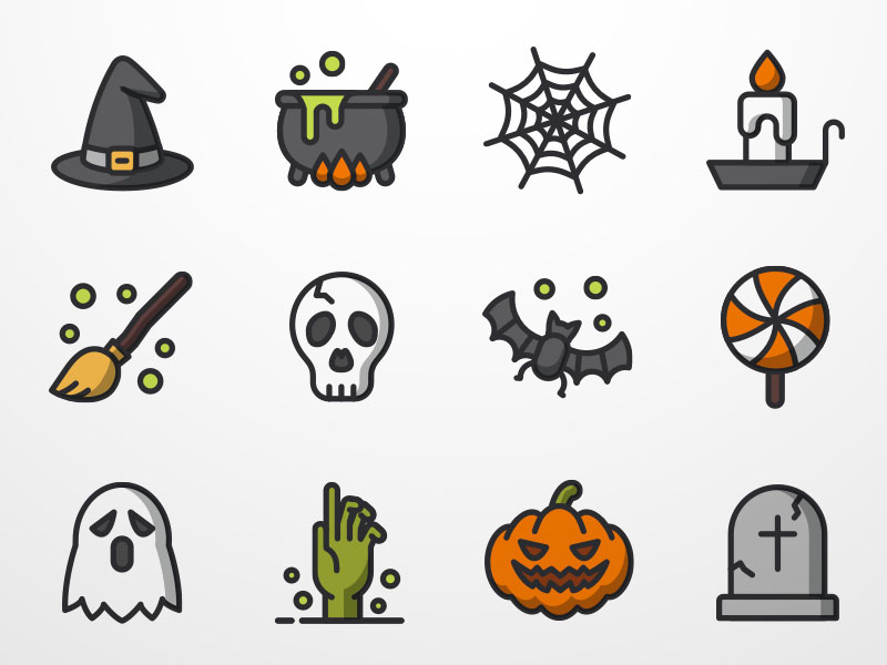 halloween icon Google 검색 Halloween icons, Easy