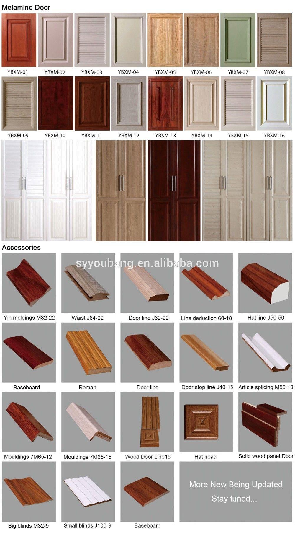 Latest Wardrobe Door Design Wooden Or Mdf Bedroom Furniture