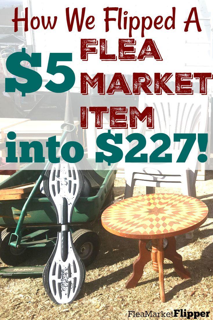 Flea Market Flipping Challenge Update 5 Turned Into 227 Ebay