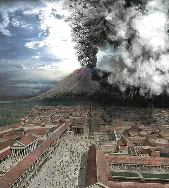 مدينة بومباي المدينة الأيطالية التي دفنها البركان Pompeii And Herculaneum Herculaneum Pompeii Volcano