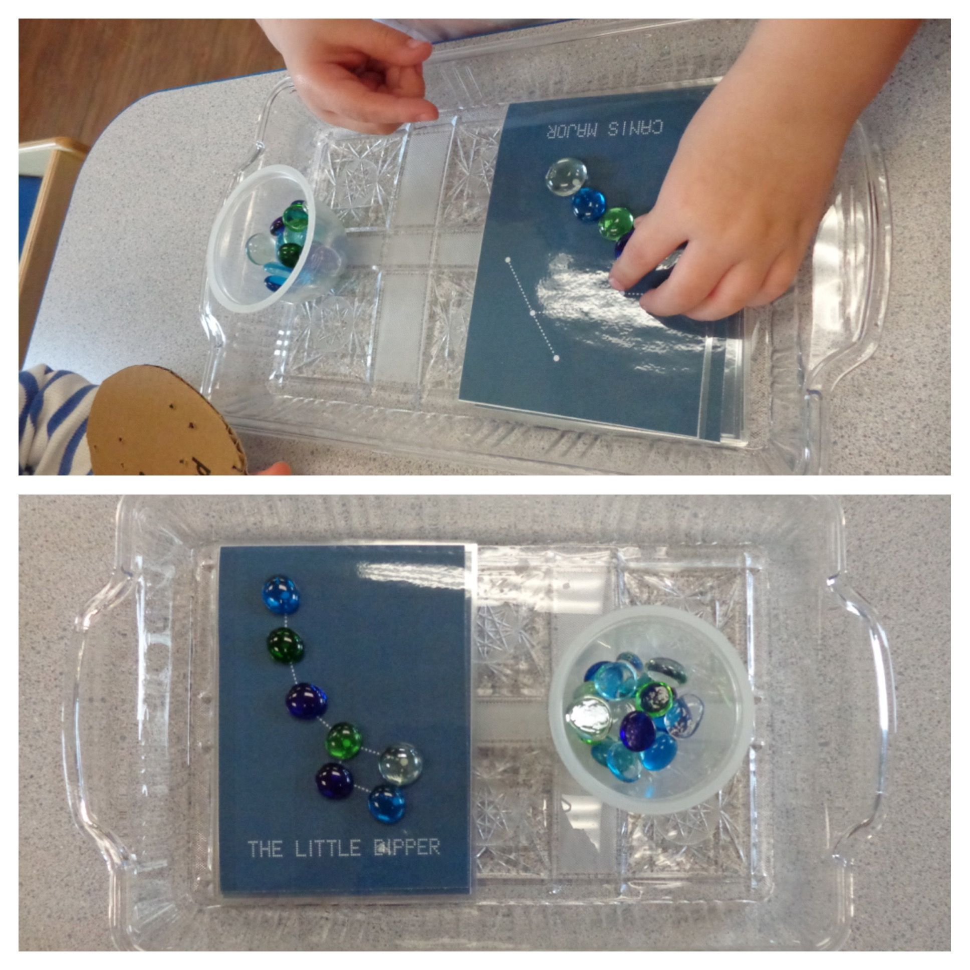 Children Engaging In Constellation Star Counting