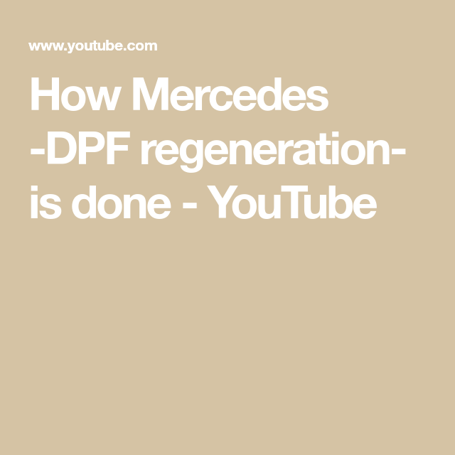 How to regenerate DPF filter, forced regen tool for all HD engines