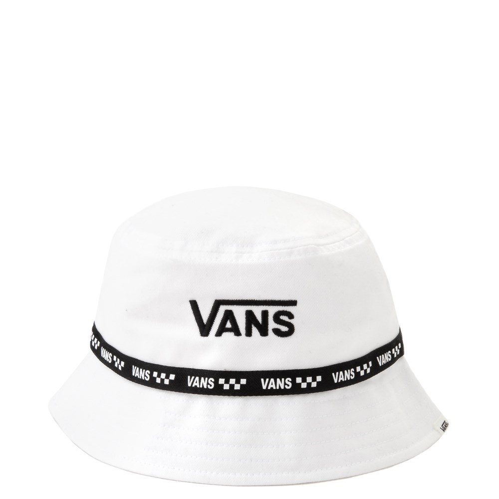 Vans Flying V Bucket Hat White In 2021 Outfits With Hats Vans Skate Style