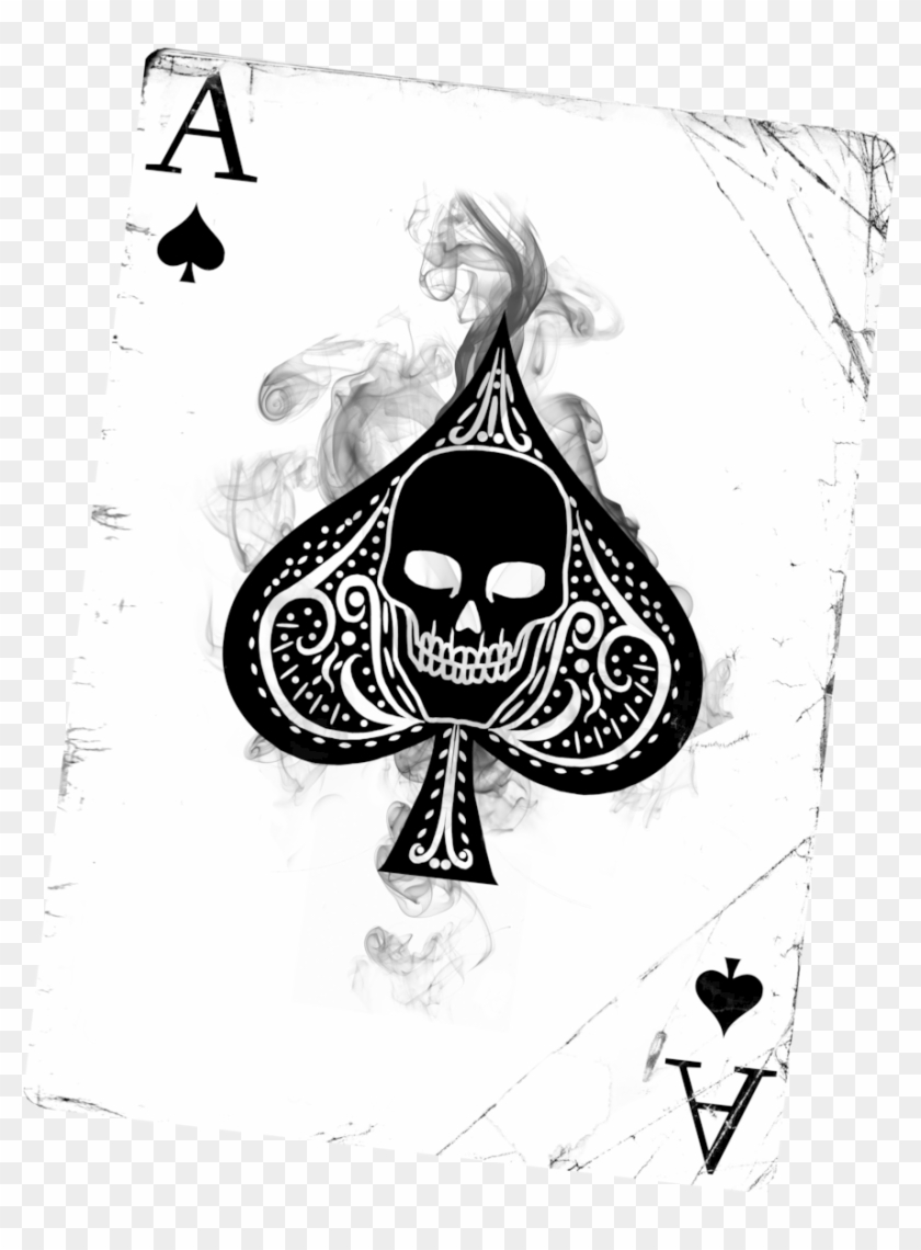 Gallery For Ace Of Spades Tattoo Designs For Men Cool Playing Cards Ace Of Spades Hd Png Download Ace Of Spades Tattoo Spade Tattoo Ace Card