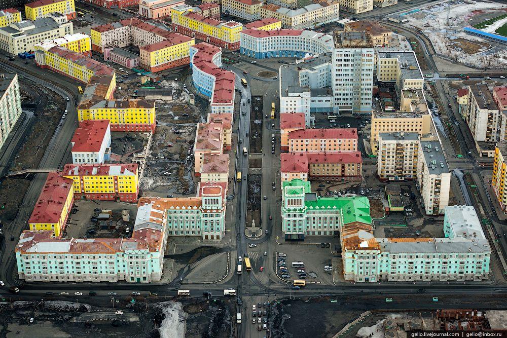город норильск фотографии сказать