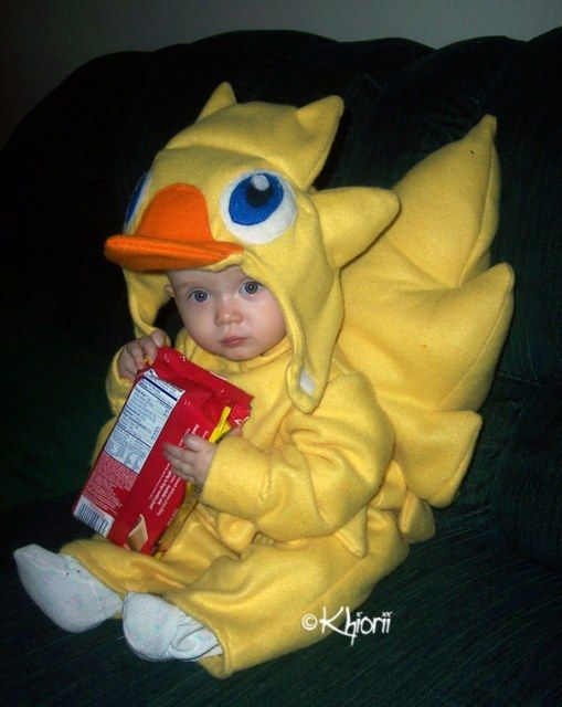 Baby chocobo from Final Fantasy.  sc 1 st  Pinterest & Baby chocobo from Final Fantasy. | Kid costumes | Pinterest | Final ...