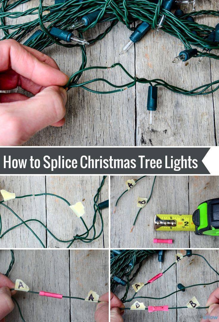 Safely fix your half-broken Christmas lights instead of spending ...