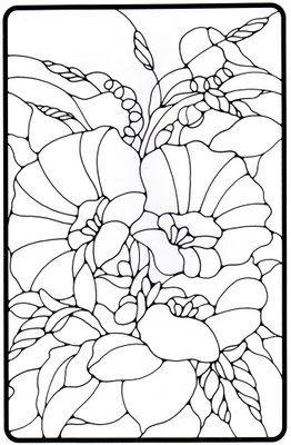 Riscos De Vitrais Com Imagens Mandalas Para Colorir Desenhos