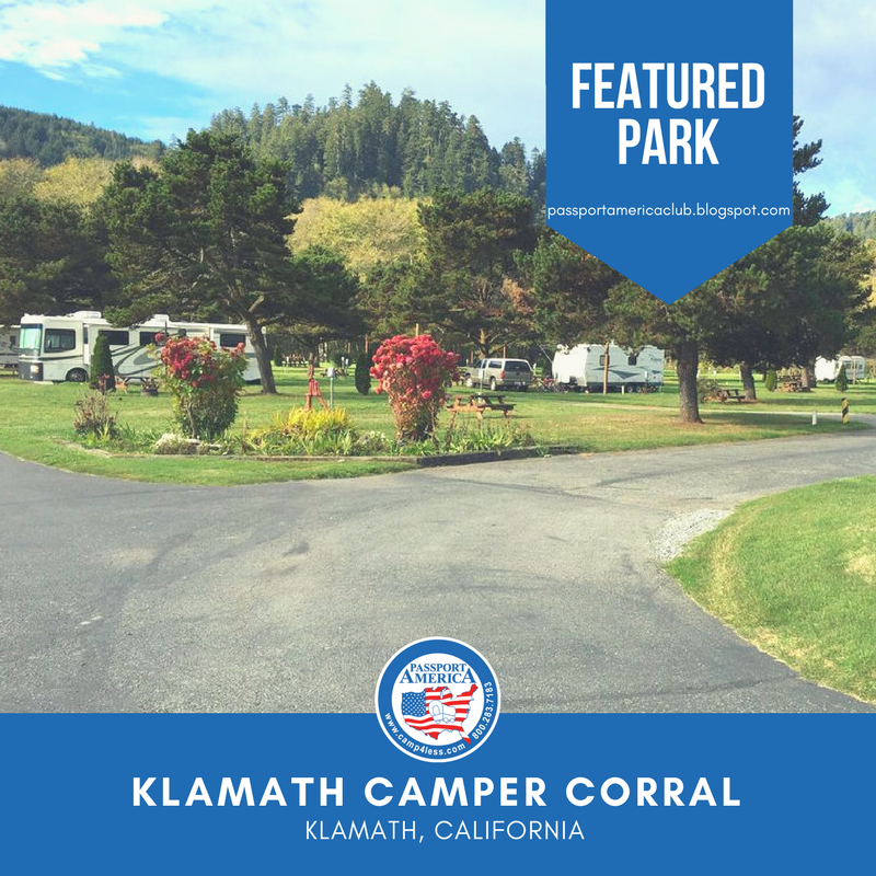 Klamath Camper Corral Klamath Ca Passport America Participating Park Klamath New York State Parks Park