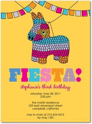 Birthday party invitations pinata games by tiny prints parties birthday party invitations pinata games by tiny prints filmwisefo