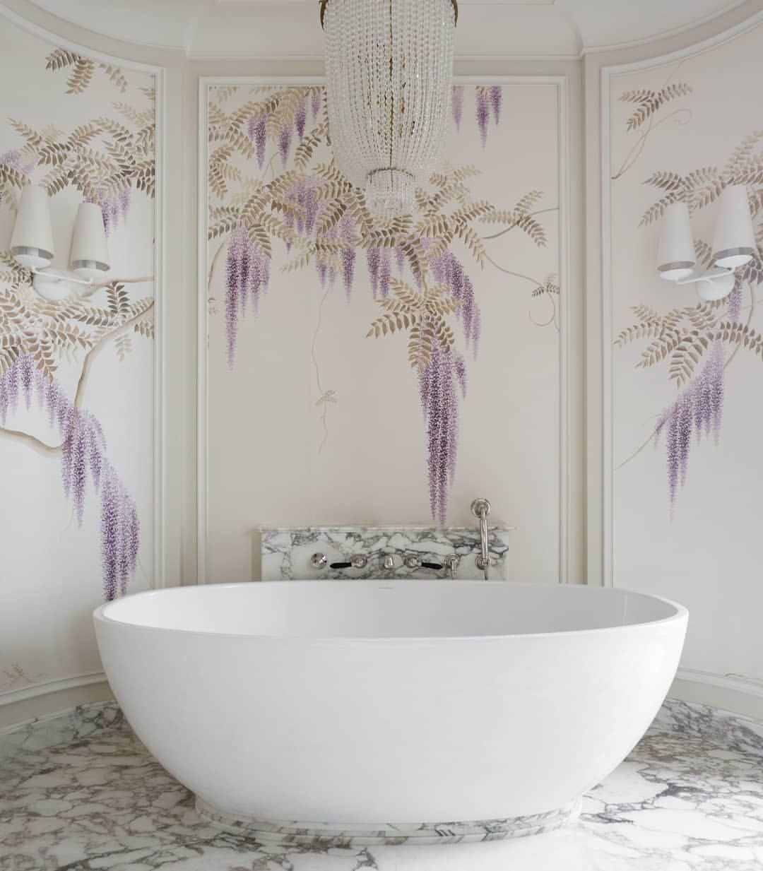 A Custom Colourway Of Our Hand Painted Wisteria In This Decadent