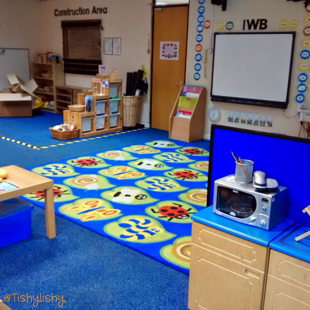 Classroom Ideas Early Years ~ View of the carpet ipad table and construction area aug