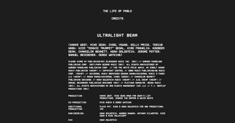 Kanye West S The Life Of Pablo Is The First Saas Album Techcrunch Pablo Life Kanye West
