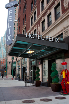 Chicago S Hotel Felix Chicago Hotels Chicago Hotel