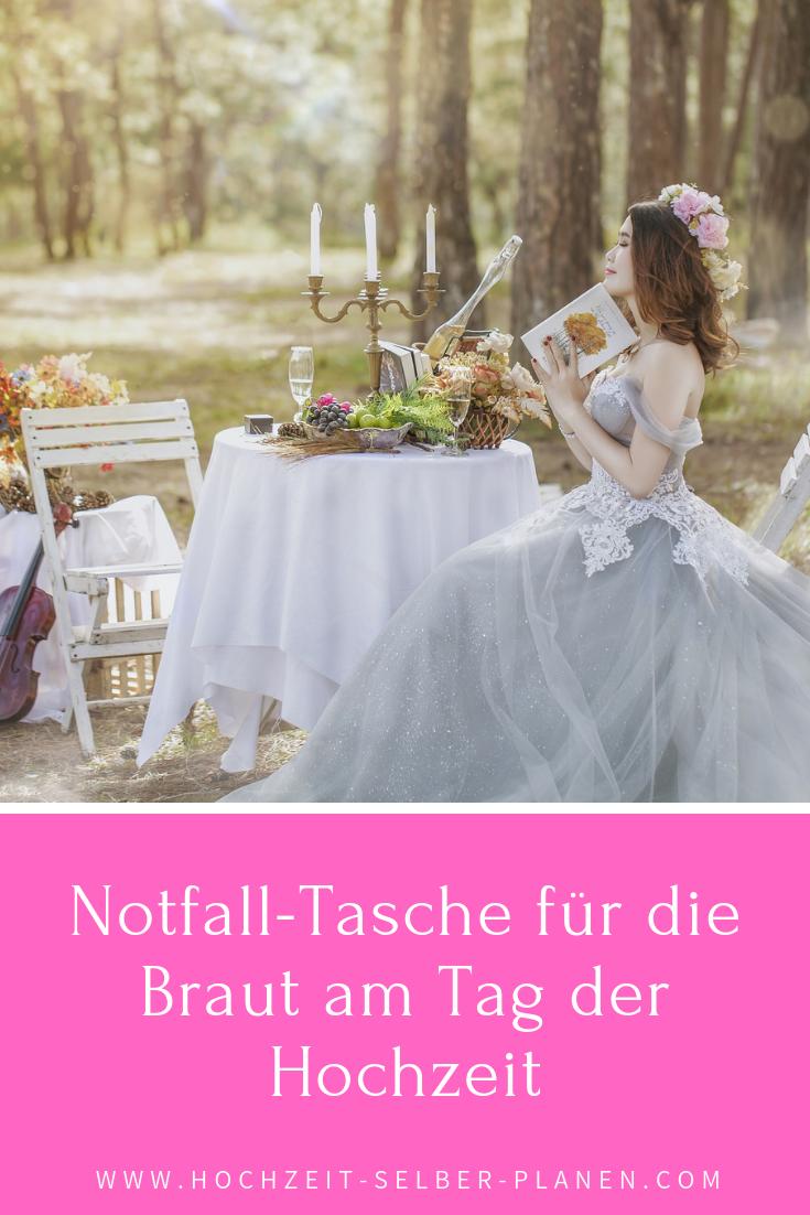 Notfall Tasche Fur Die Braut Am Tag Der Hochzeit Braut Trauzeuge Hochzeit Hochzeit