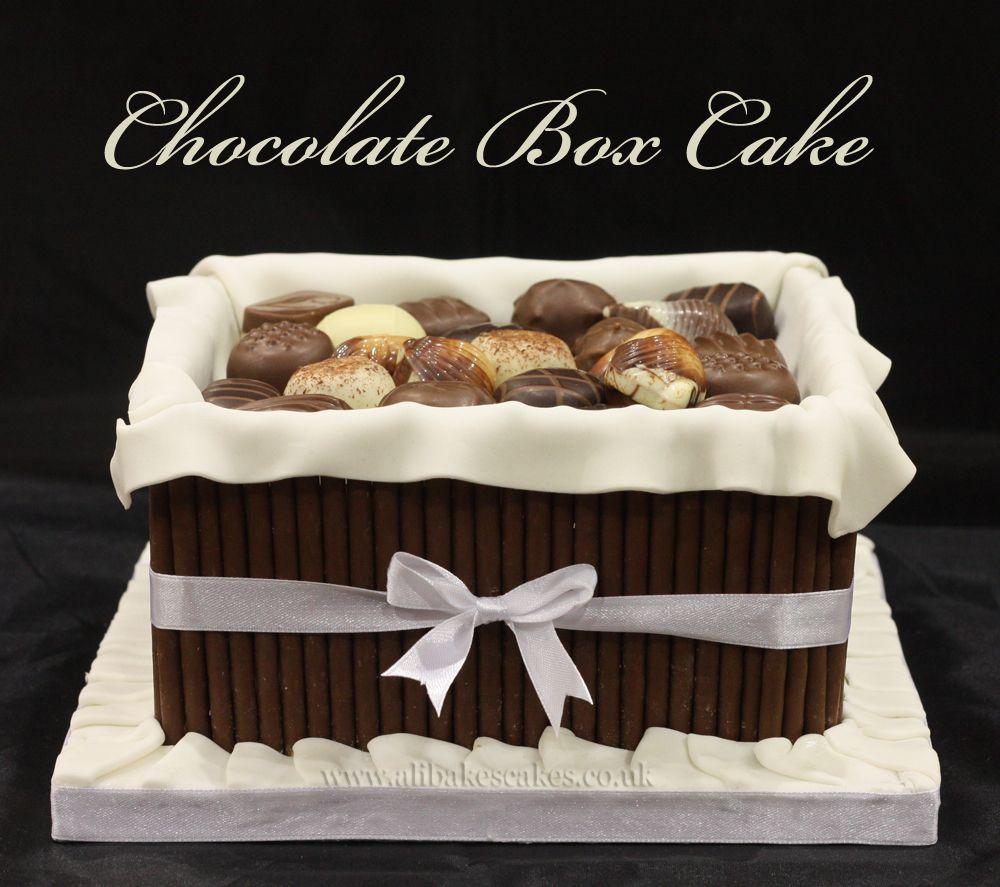 Cake Ideas From Cake Box : Chocolate box cake cake decorating ideas Pinterest