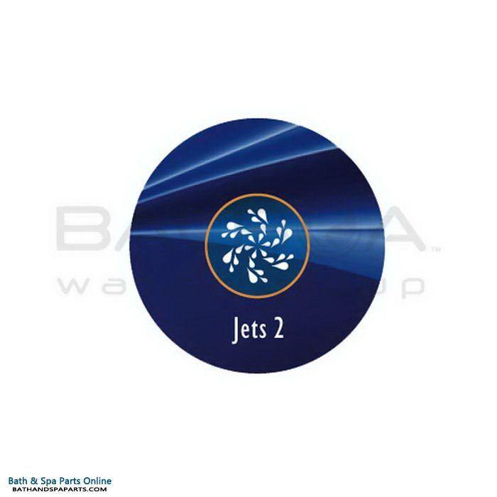 Balboa 1-Button AX10 Topside Panel Overlay [Jets2] (40106)