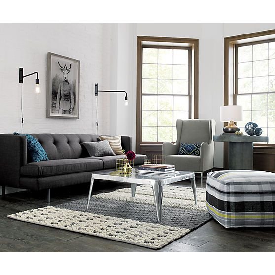 1000 images about cb2 on pinterest dhurrie rugs rugs and wide stripes cb2 swing arm brass wall