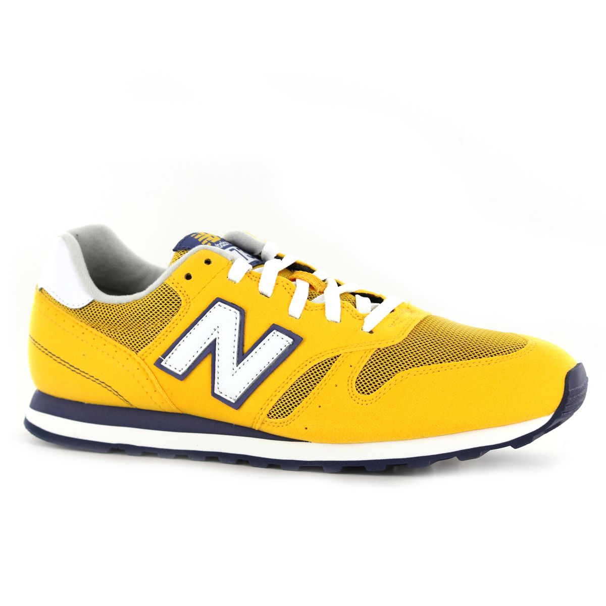 new balance 373 navy yellow