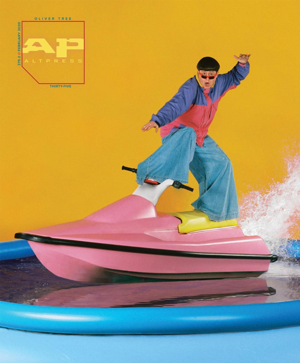 Oliver Tree Alternative Press Magazine Issue 379 Version