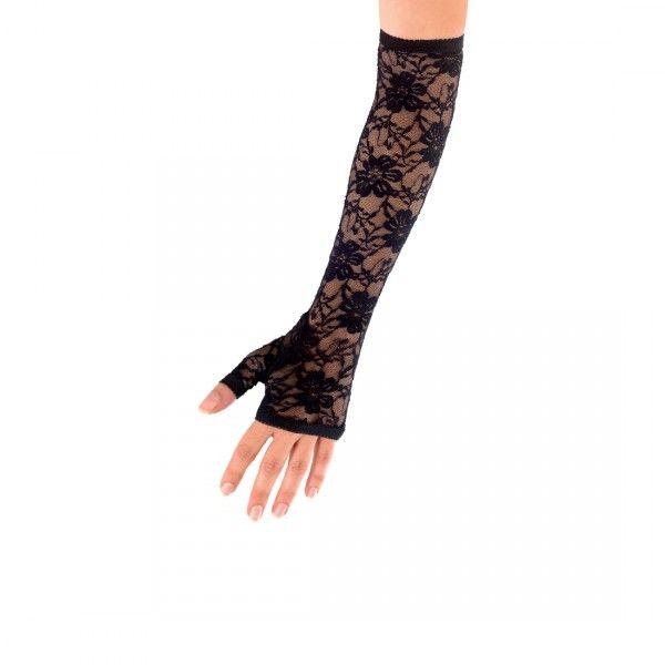 Spitzenhandschuhe Sexy Handschuhe 35cm