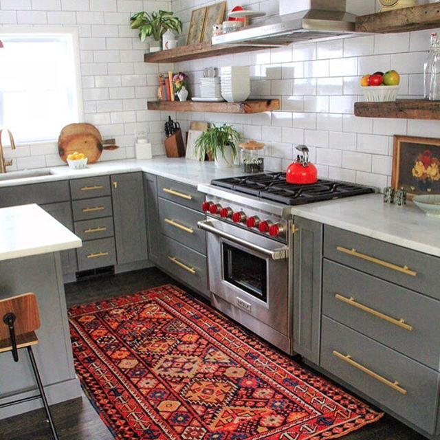 Canary Lane Rugs How About The Rug In This Dreamy Space Kitchen Goals Was What Immediately Came White Red And
