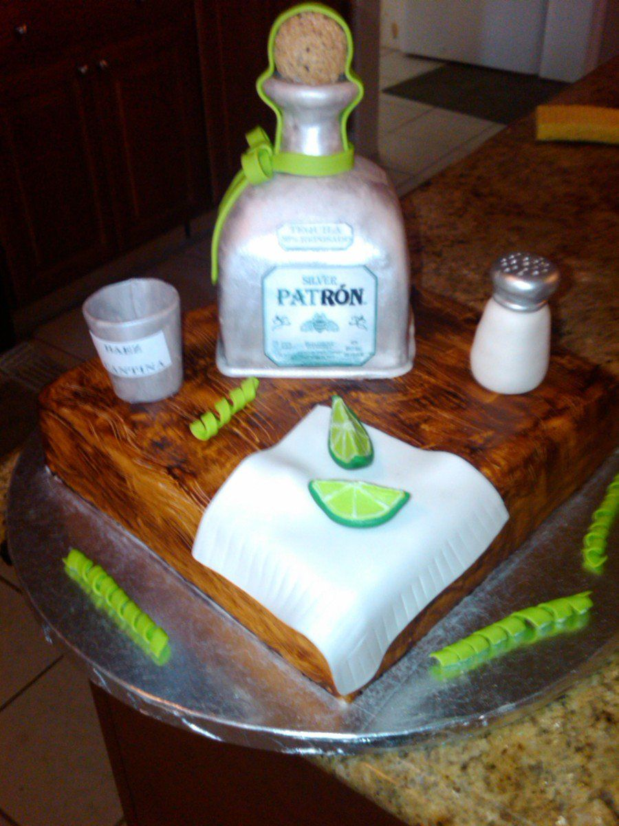 Tequila Cake Birthday Cakes In 2019 Tequila Cake