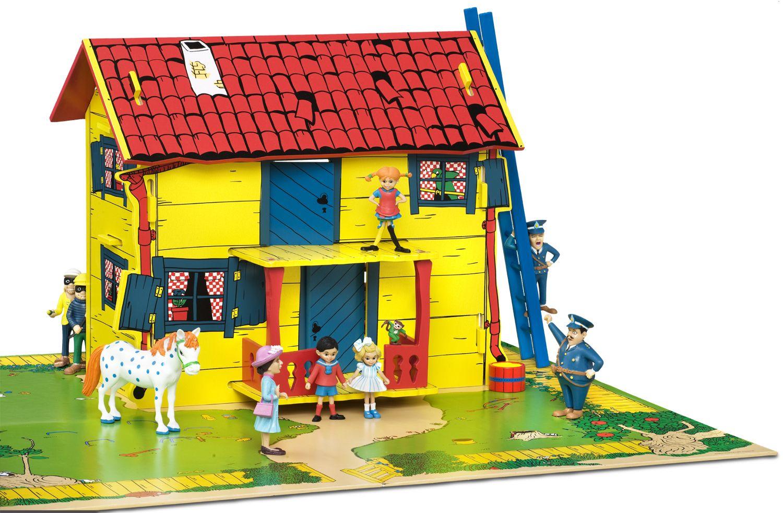 Villa Kakelbont Poppenhuis.Villa Kakelbont Poppenhuis Child Dollhouse Toys Pippi