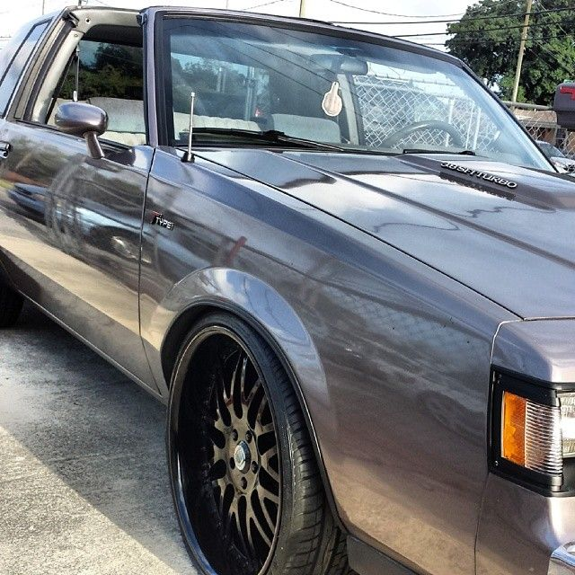 Test Fit Asanti Granny Grand National Buick T Type T Top Grey