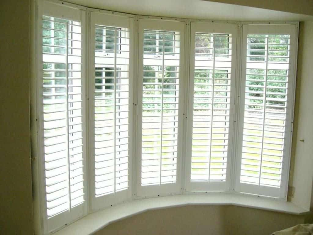 House Windows With Built In Blinds Bay Window Blinds Bay Window