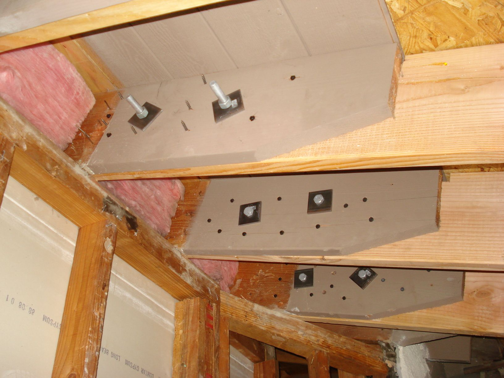 Sample Of How To Reinforce Rafters In Ceiling Rafters In