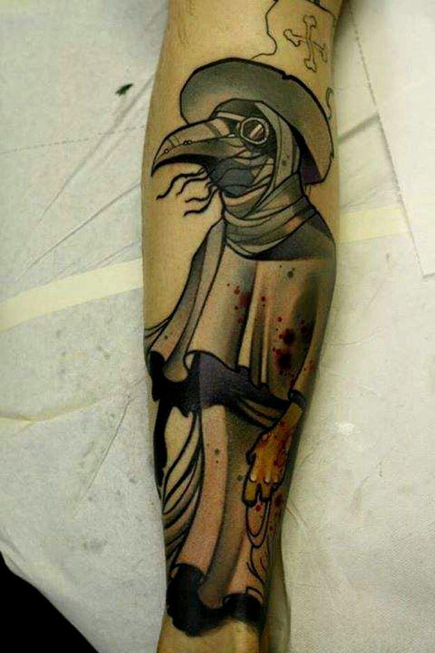 Doctor Tattoo, Plague Doctor, Tattoos