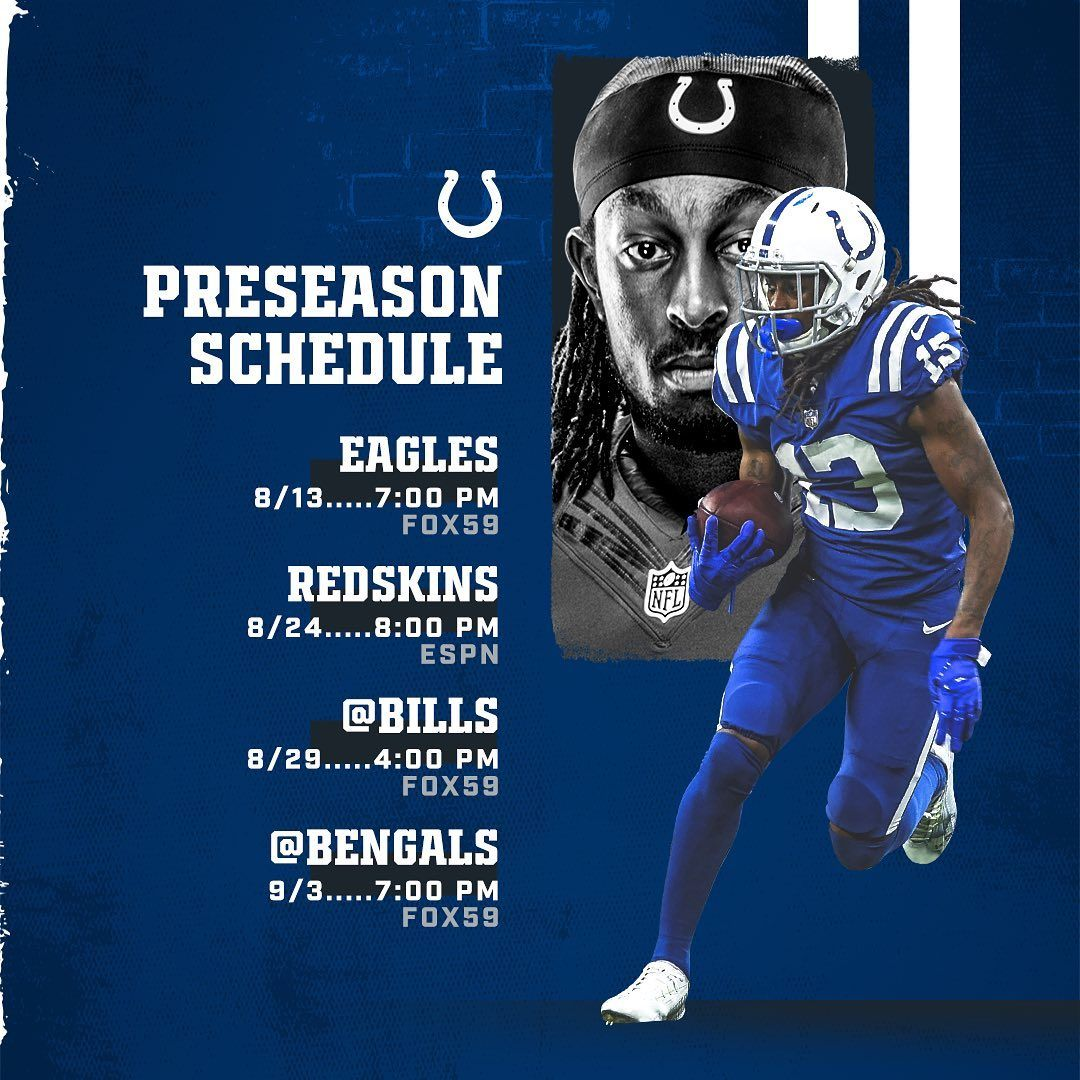 All the Preseason deets. The post Indianapolis Colts: All the Preseason deets…. appeared first on Raw Chili.