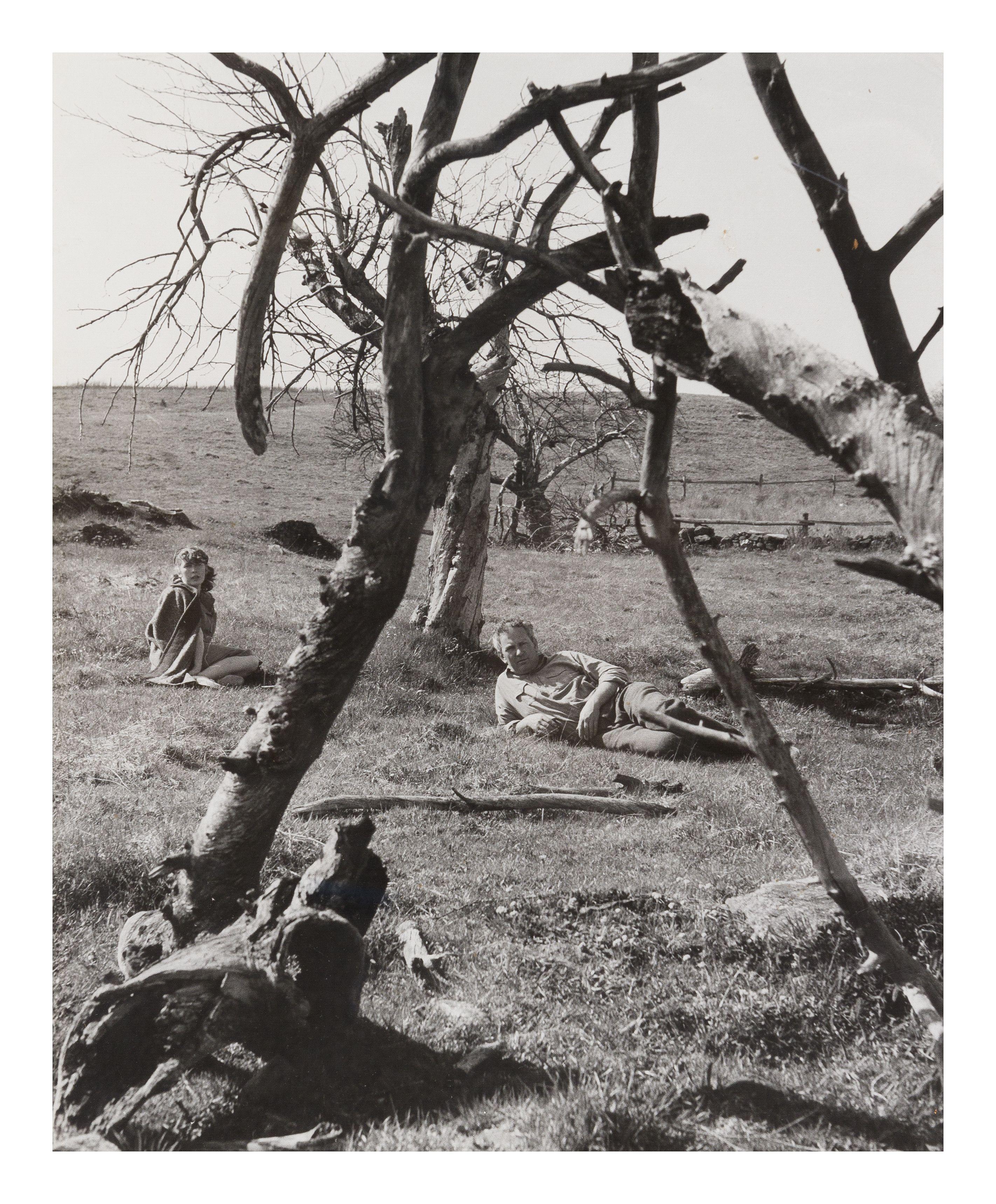 Herbert Matter, (American/Swiss, 1907-1984) | Alexander Calder and Louisa, 1940