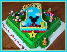MickeyMouseClubhouseBirthdayCakes Mickey Mouse Clubhouse cake