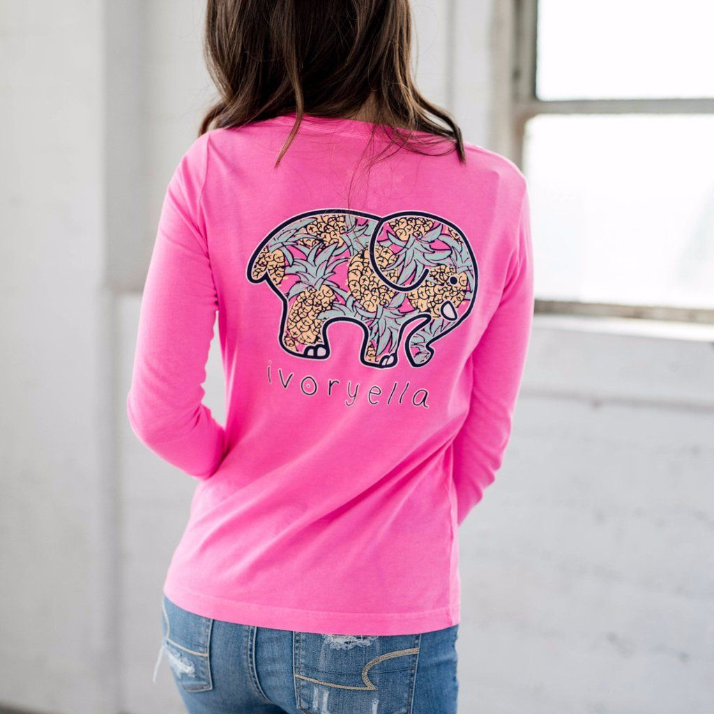 Perfect fit neon pink pineapple tee open arms perfect fit and neon hospitality the pineapple has been a symbol of welcome for many centuries wear the pineapple biocorpaavc Gallery