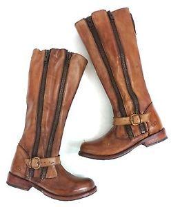 d0e1c7484b5 Bed-Stu-Tango-Tall-Zip-Leather-Boot-Windsor-Tan-Glaze-Size-9 | LOVE ...