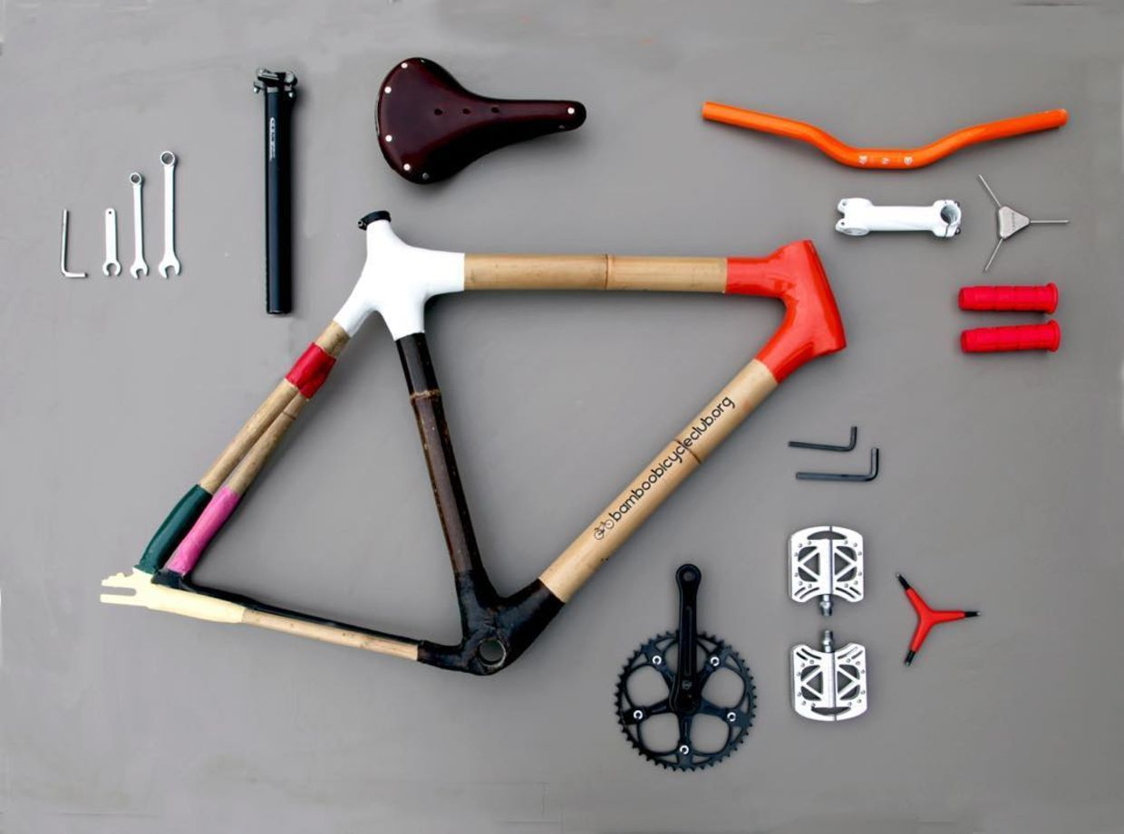 Build Your Own Bamboo Bicycle With This Awesome Diy Kit Bamboo