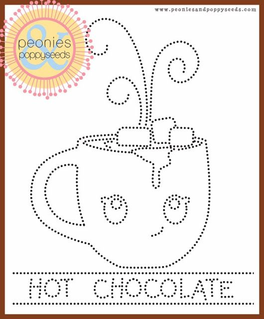 holiday dotted pin hole art templates peonies and poppy seeds