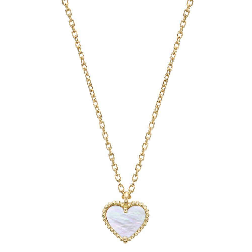 dbc91beba46c1 Van Cleef & Arpels Sweet Alhambra Heart Pendant on Chain | jewelry ...