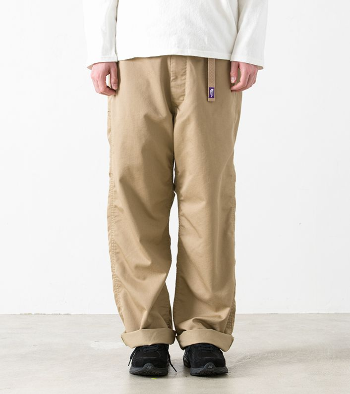 nanamica / COOLMAX® Stretch Twill Wide Pants