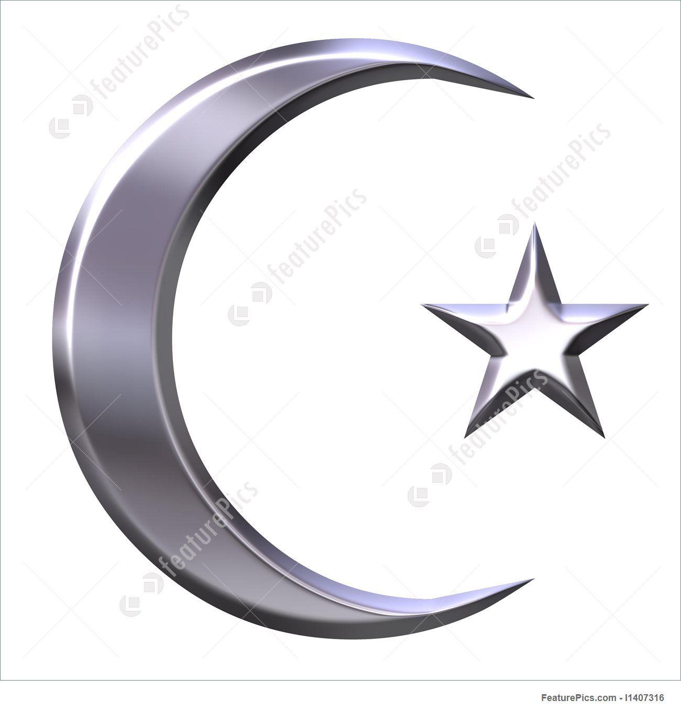 Islam symbol crescent and star golden symbols of islamic faith islam symbol crescent and star golden symbols of islamic faith white background jewish muslim emblems symbols pinterest crescents buycottarizona