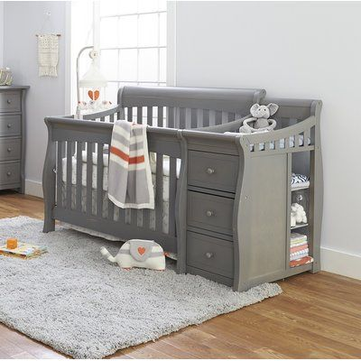 Sorelle Tuscany 4 In 1 Convertible Crib Color Weathered