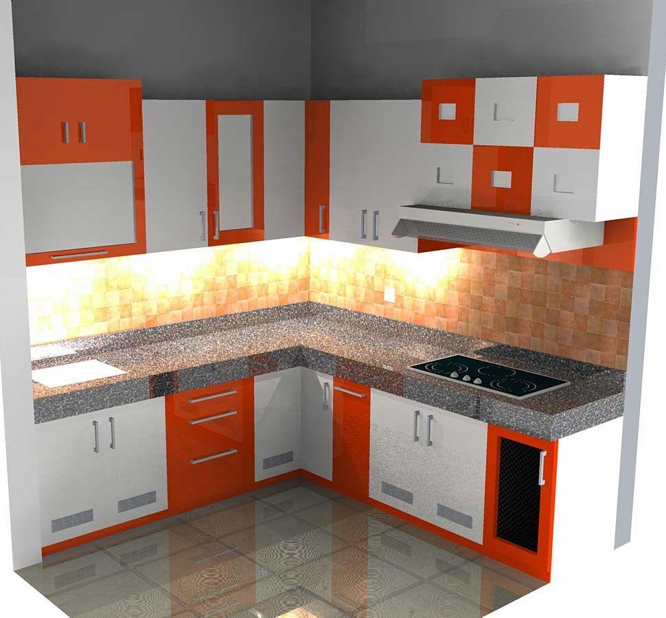Gambar Dapur Rumah Minimalis | Dekorasi minimalis, Ruang keluarga ...