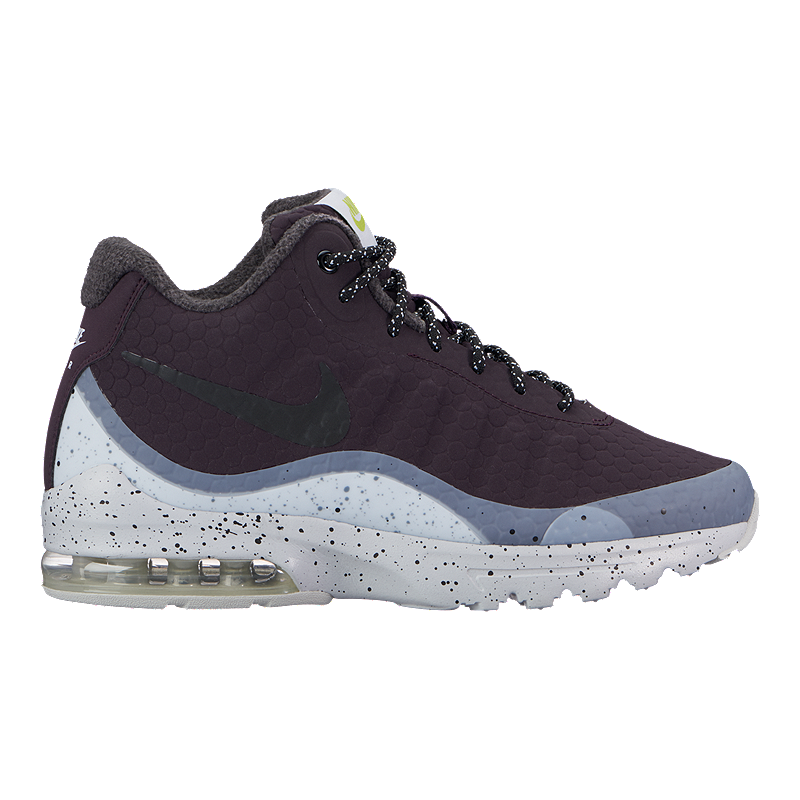 Nike Women's Air Max Invigor Mid Shoes - Port/Black