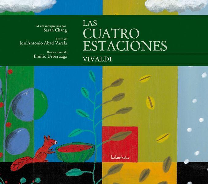 Editorial Kalandraka Las Cuatro Estaciones De Vivaldi Libros De Música Maestro De Musica