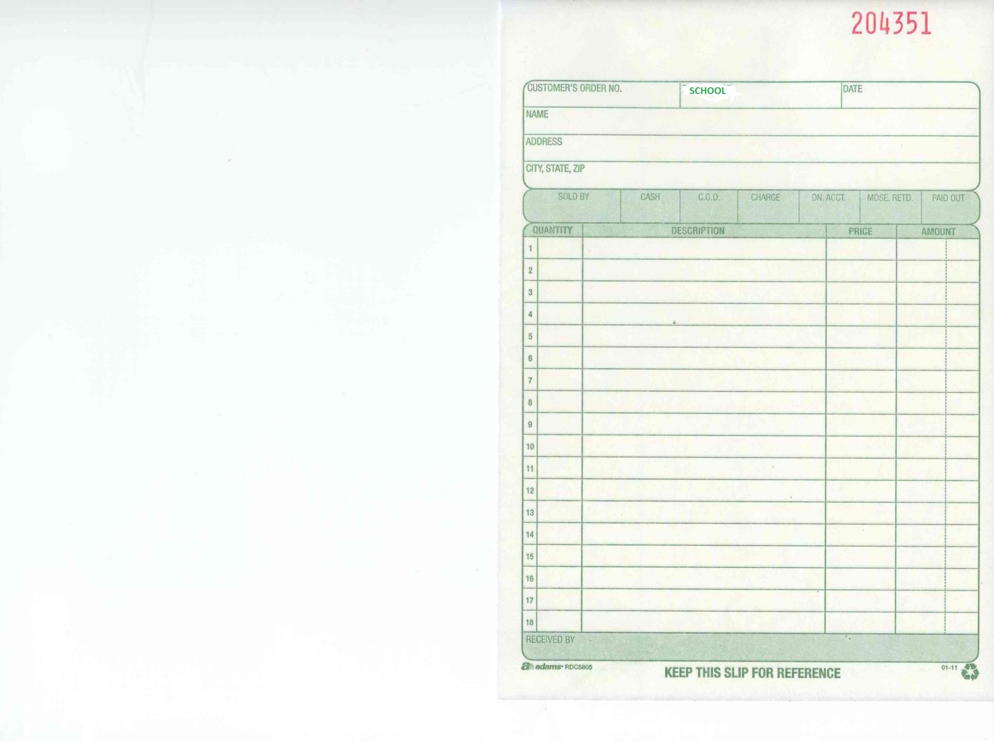 Blank Invoice Template Blank Invoice Copy Of Blank Invoice